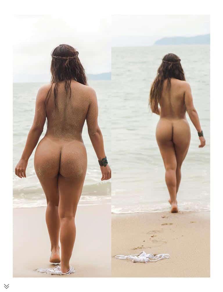 bunda gostosa na praia nua