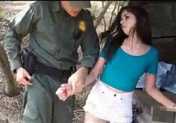 traficante gostosa mexicana transando com policial
