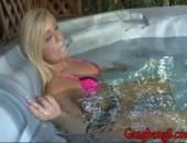transando na banheira