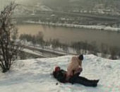 Porno polar de sexo na neve com gostosa