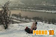 porno polar sexo na neve