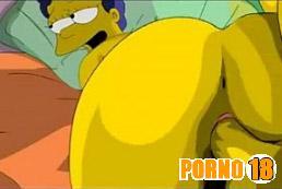 simpsons fazendo sexo em desenho
